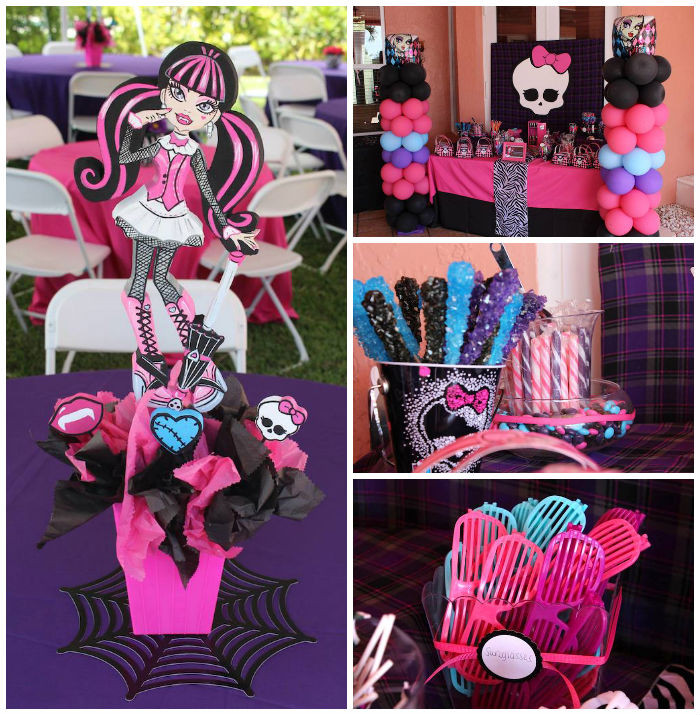 Best ideas about Monster High Birthday Decorations . Save or Pin Kara s Party Ideas Monster High Themed Birthday Party via Now.