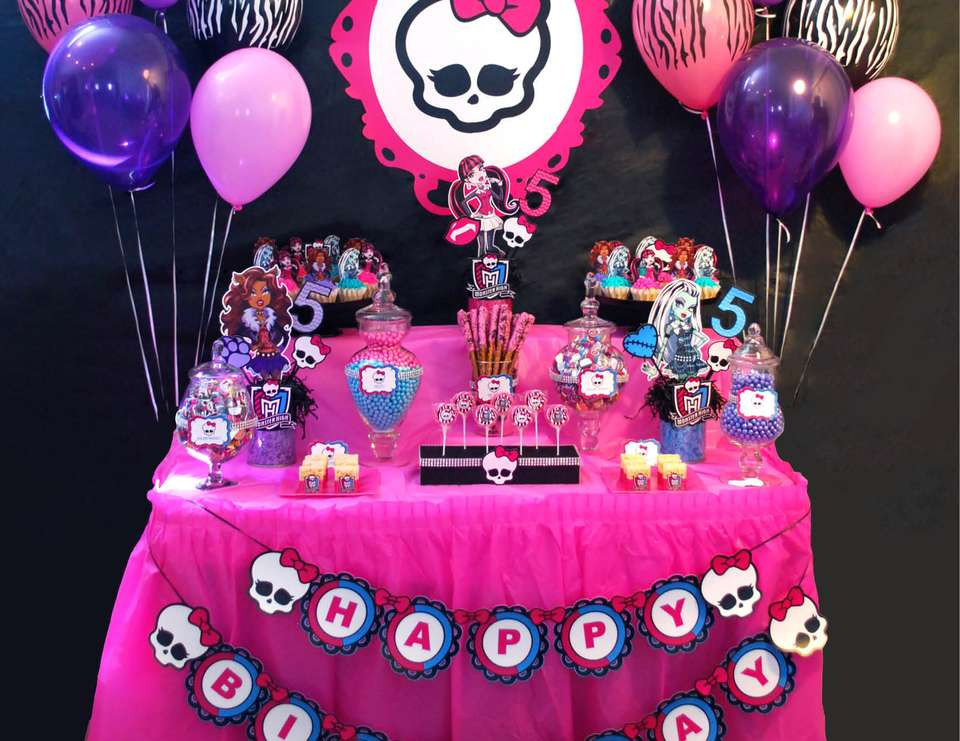 """Best ideas about Monster High Birthday Party . Save or Pin Monster High Birthday """"Monster High Party"""" Now."""