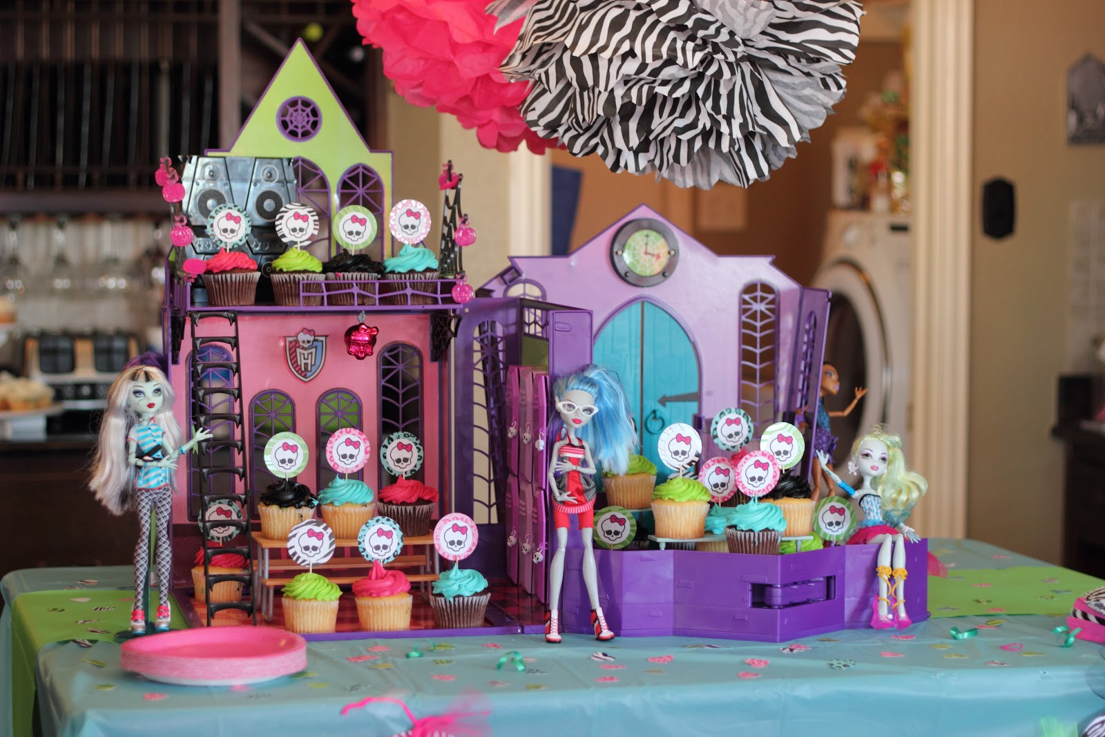 Best ideas about Monster High Birthday Party . Save or Pin Wright By Me Monster High Birthday Now.