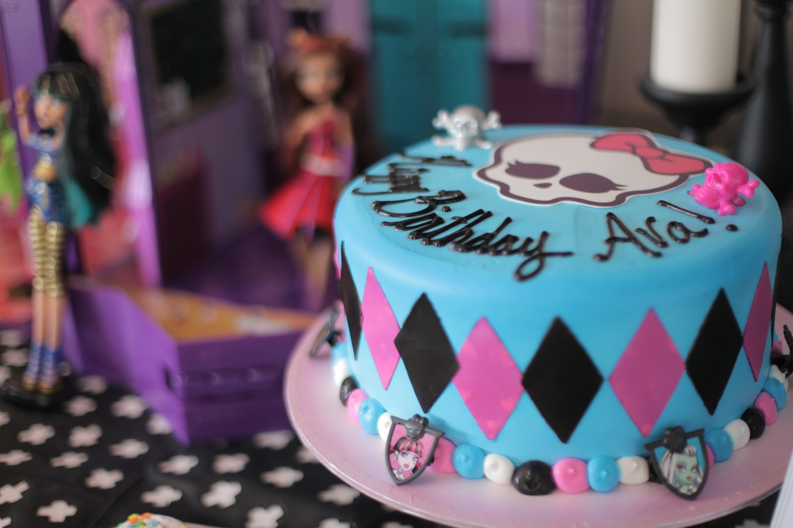 Best ideas about Monster High Birthday Party . Save or Pin Neighborhood Kids Ava s 7th Monster High Birthday Party Now.