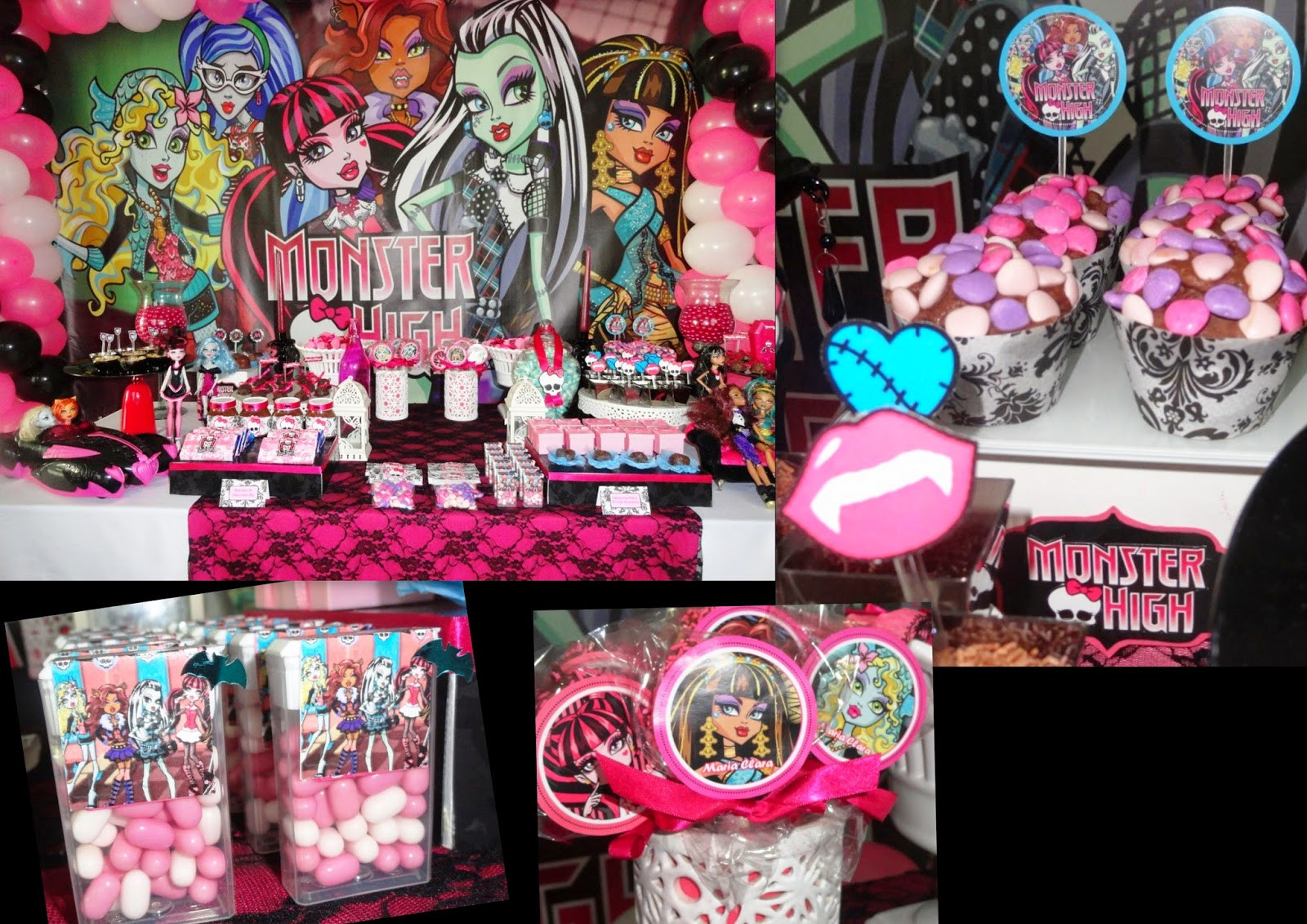 Best ideas about Monster High Birthday Party . Save or Pin Monster High 3D Draculaura Free Printable Now.