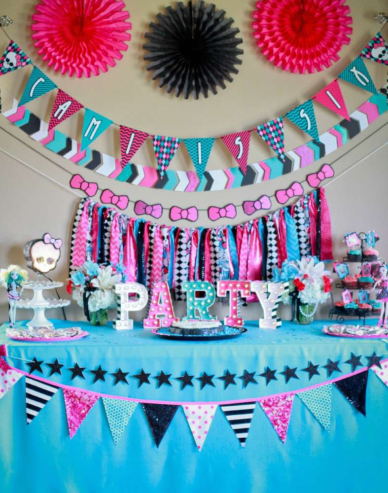 Best ideas about Monster High Birthday Party . Save or Pin Monster High Birthday Party Ideas 2 of 48 Now.