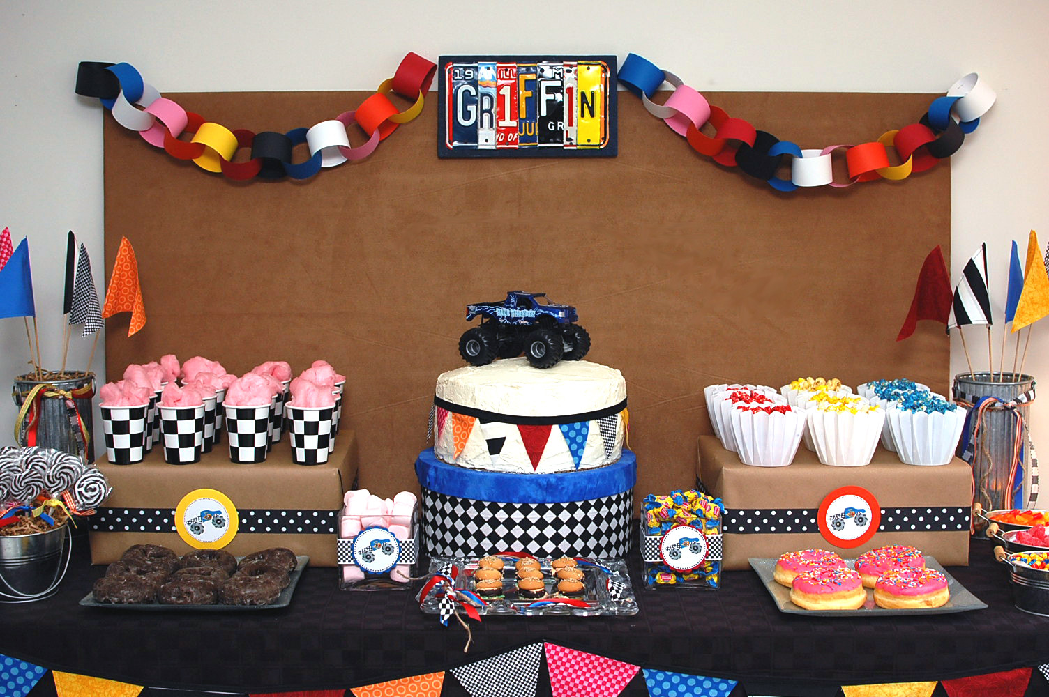 Best ideas about Monster Jam Birthday Party . Save or Pin The Purple Pug mullets & mohawks rty of the day Now.