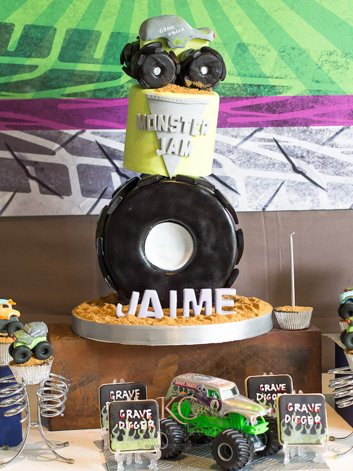 Best ideas about Monster Jam Birthday Party . Save or Pin Kara s Party Ideas Monster Truck Monster Jam Birthday Now.