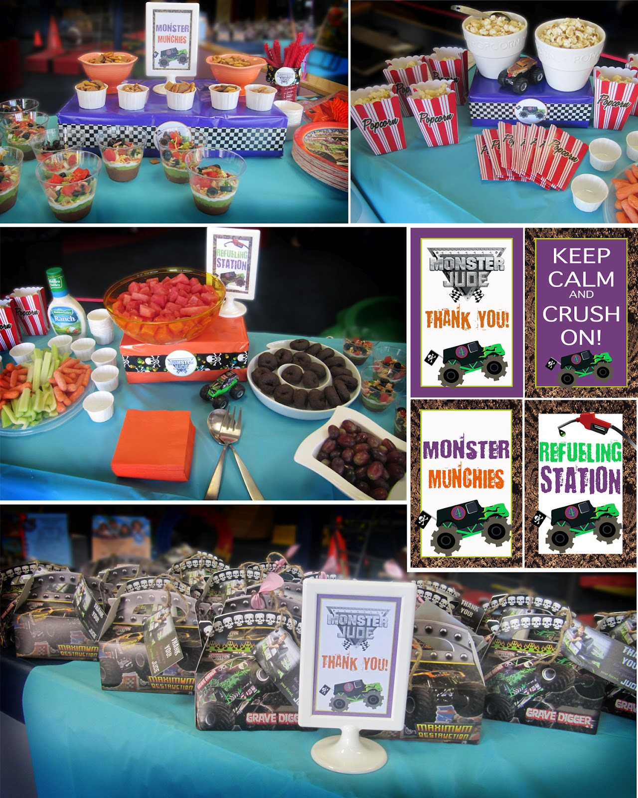 Best ideas about Monster Jam Birthday Party . Save or Pin Creatively Quirky at Home Monster Jude turns 4 Monster Now.