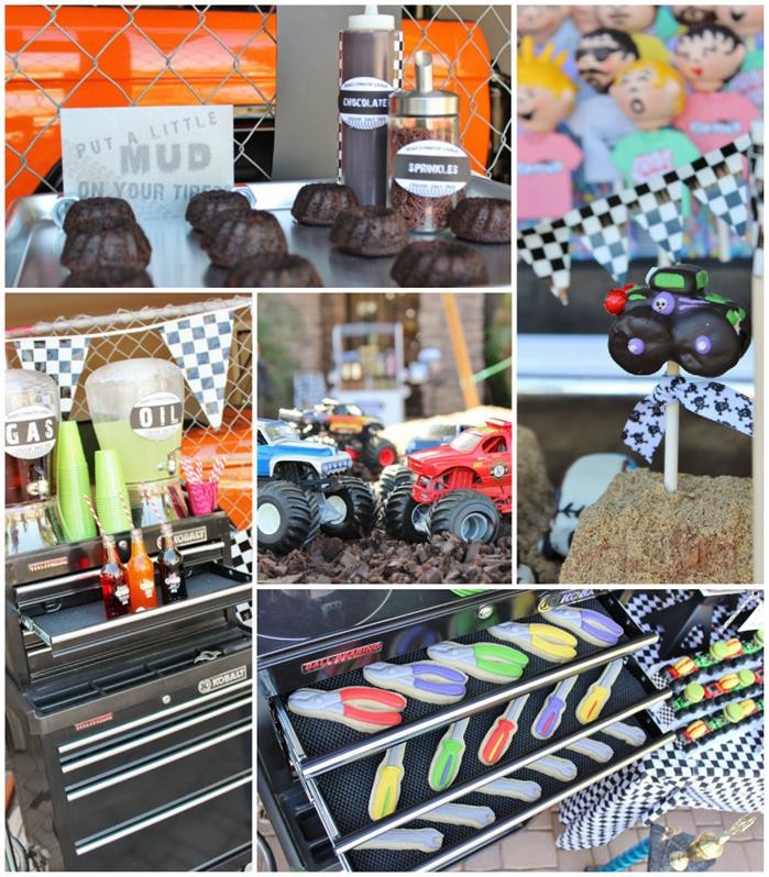 Best ideas about Monster Jam Birthday Party . Save or Pin Kara s Party Ideas Monster Jam Truck Party Planning Ideas Now.