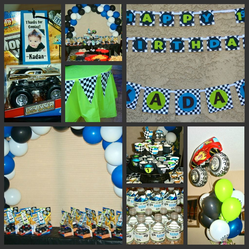 Best ideas about Monster Jam Birthday Party . Save or Pin Kadan s 1st Monster Jam birthday party Kids Now.