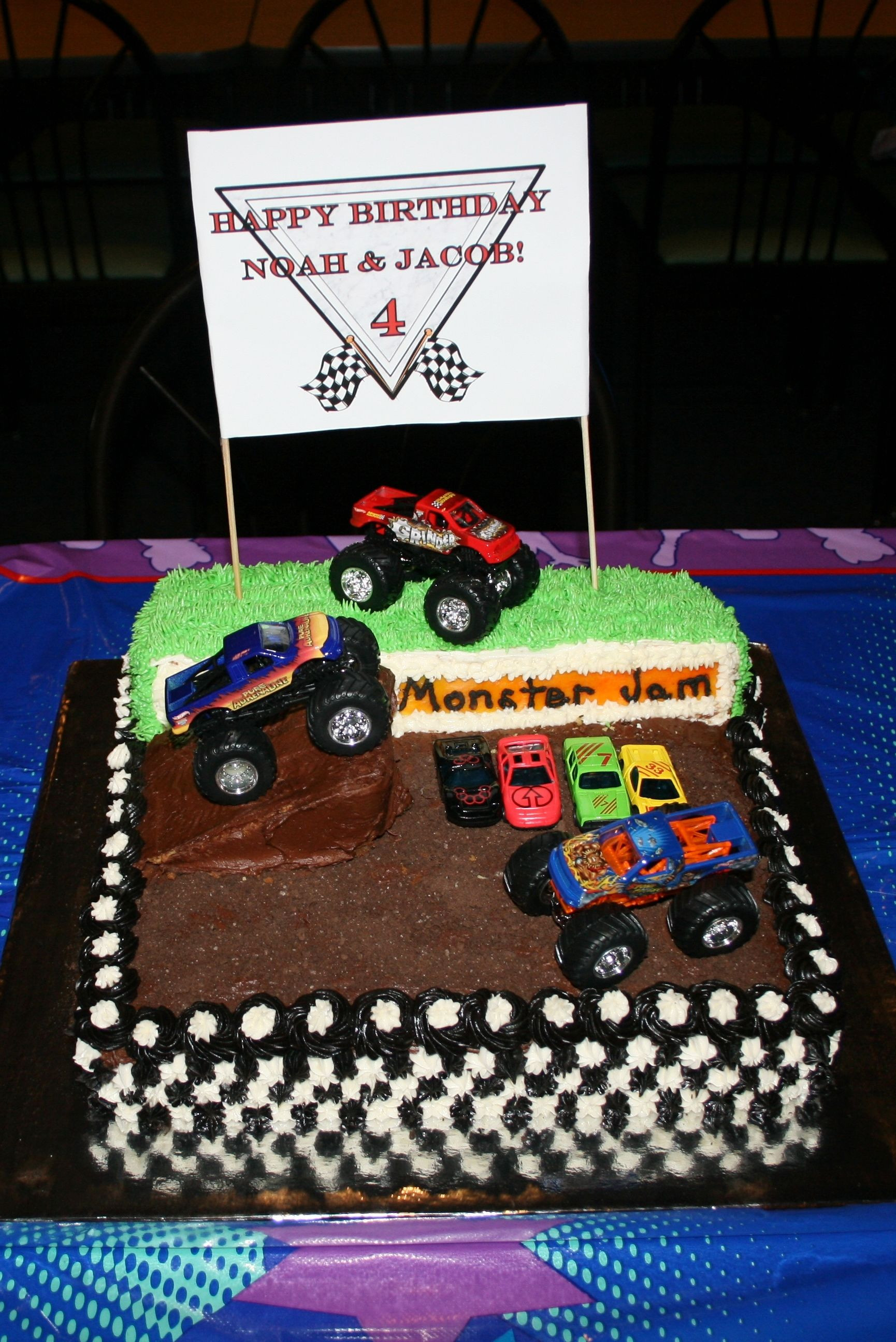 Best ideas about Monster Truck Birthday Cake . Save or Pin Monster Truck Birthday Cake Mini Cakes by Lisa Now.