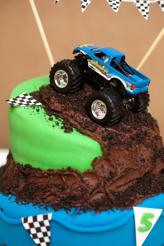 Best ideas about Monster Truck Birthday Cake . Save or Pin 10 Do It Yourself Birthday Cakes For Little Boys Now.
