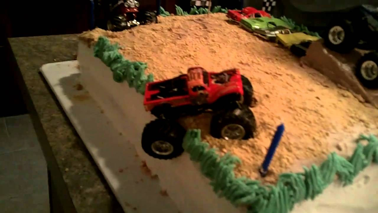 Best ideas about Monster Truck Birthday Cake . Save or Pin Monster Truck Birthday Cake Blake s 5th b day Now.