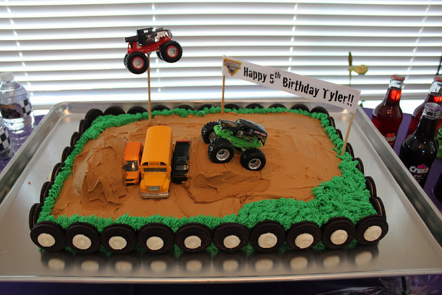 Best ideas about Monster Truck Birthday Cake . Save or Pin It s Fun 4 Me Monster Truck Cake How to Position a Now.
