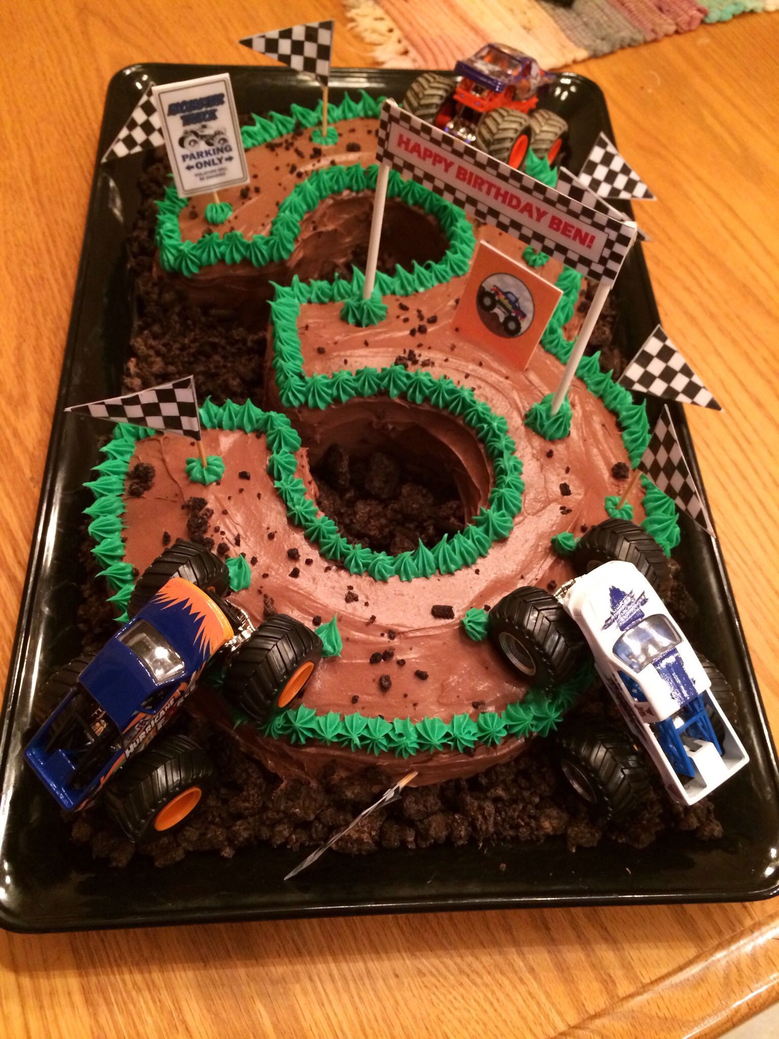 Best ideas about Monster Truck Birthday Cake . Save or Pin Monster truck cake made by Amy Volby Cakes Now.