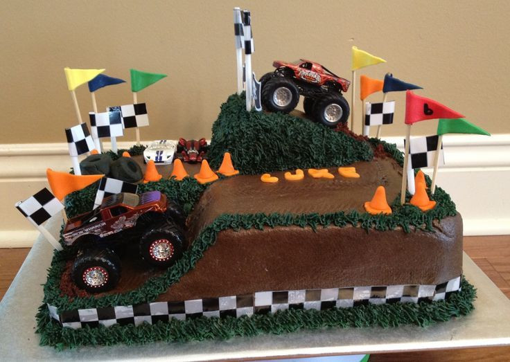 Best ideas about Monster Truck Birthday Cake . Save or Pin blaze and the monster machines cake Google Search Now.