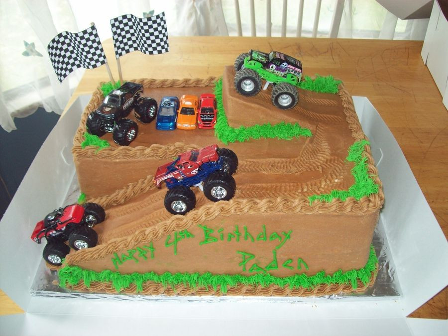 Best ideas about Monster Truck Birthday Cake . Save or Pin birthday cakes monster trucks Now.