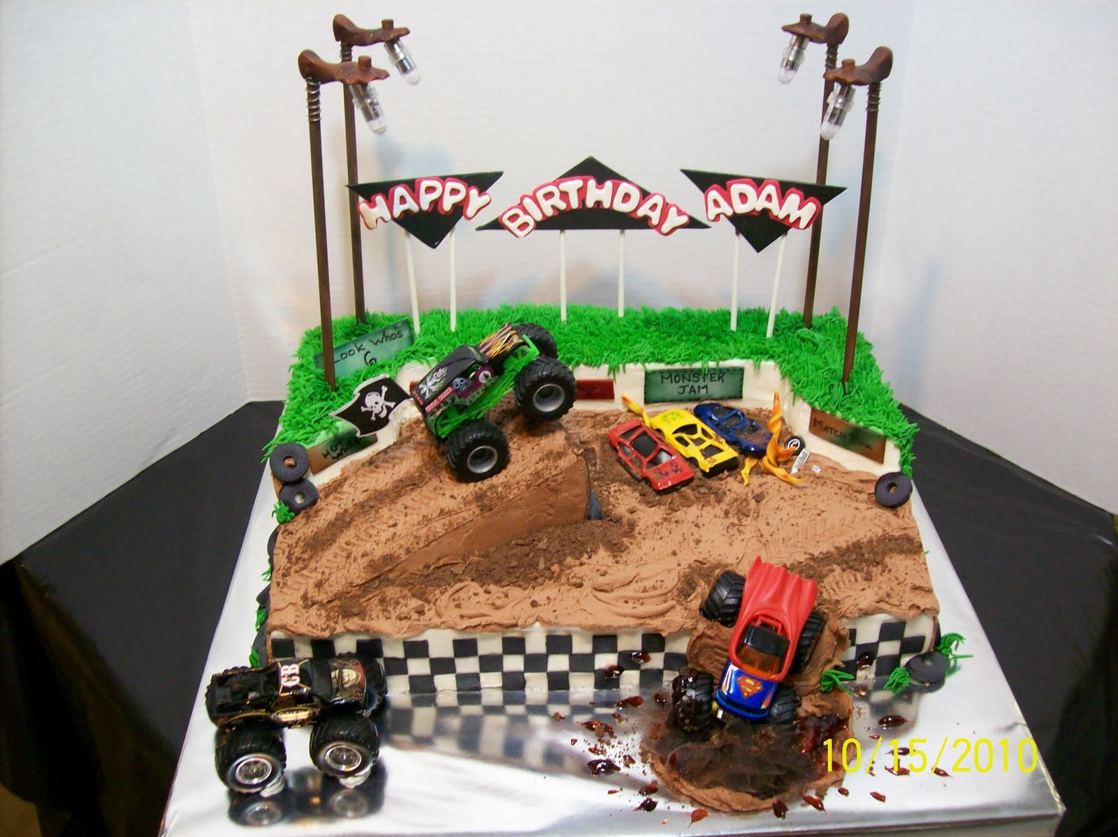 Best ideas about Monster Truck Birthday Cake . Save or Pin Cakes By Chris Grave Digger Monster Truck Now.