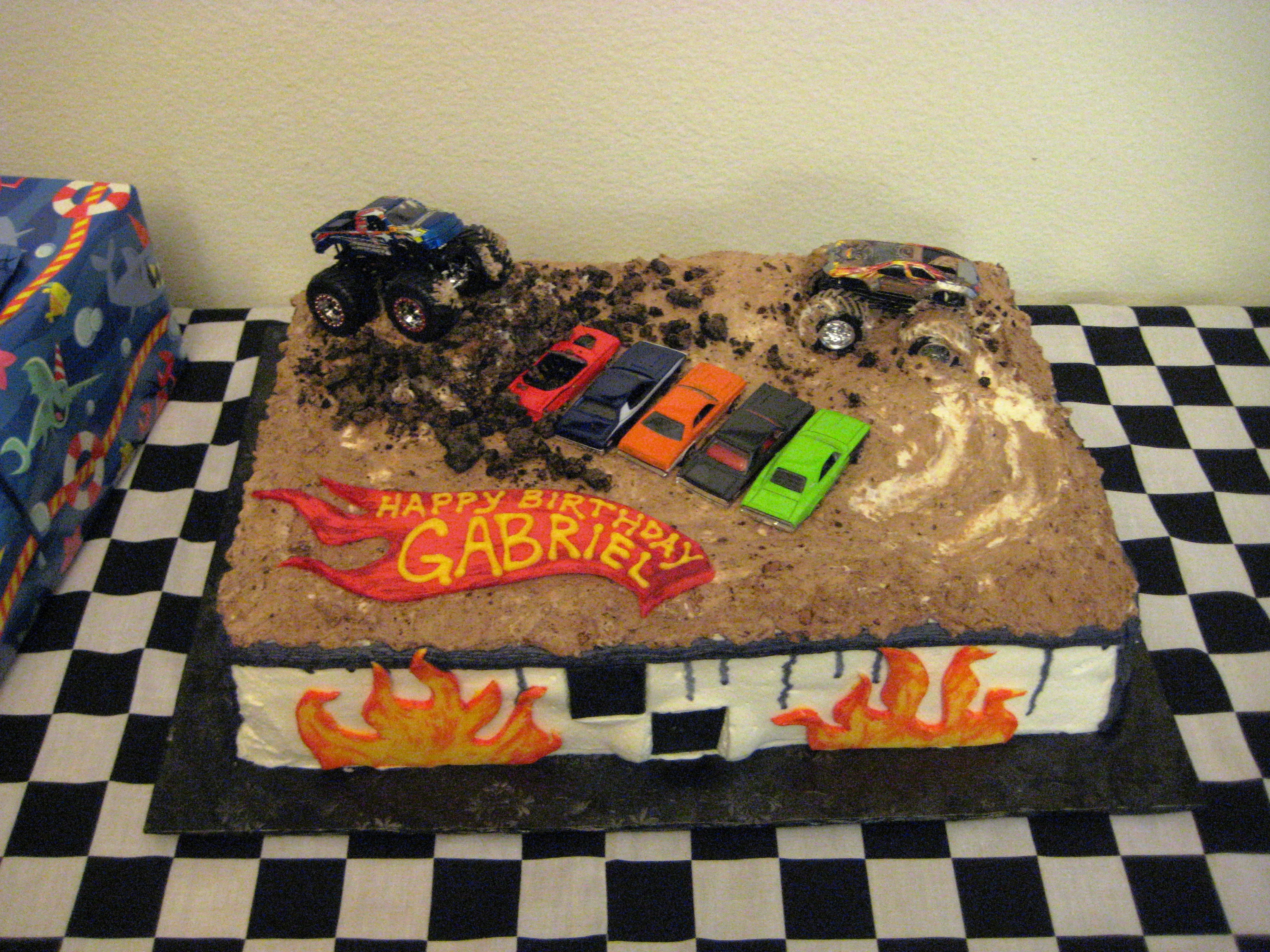 Best ideas about Monster Truck Birthday Cake . Save or Pin Real Parties Monster Truck Birthday Party Now.