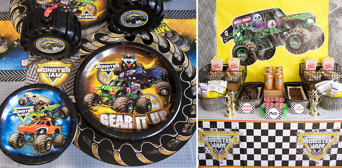 Best ideas about Monster Truck Birthday Party Supply . Save or Pin Monster Jam Party Supplies for Birthdays Now.
