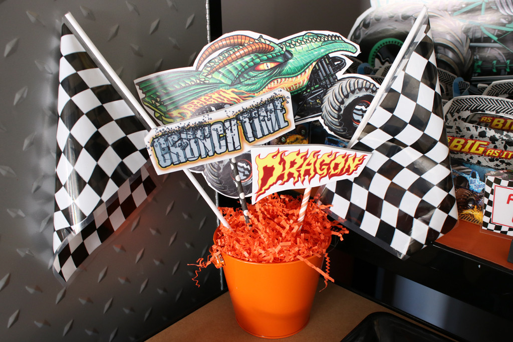 Best ideas about Monster Truck Birthday Party Supply . Save or Pin Monster Truck Party Now.