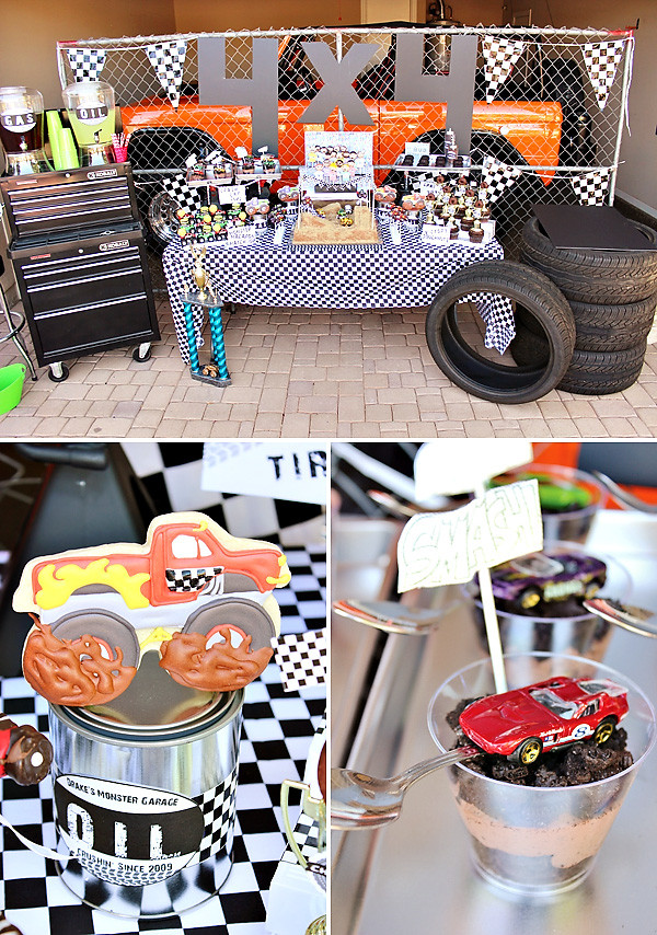 Best ideas about Monster Truck Birthday Party Supply . Save or Pin Awesome Monster Jam Truck Party Boys Birthday Now.