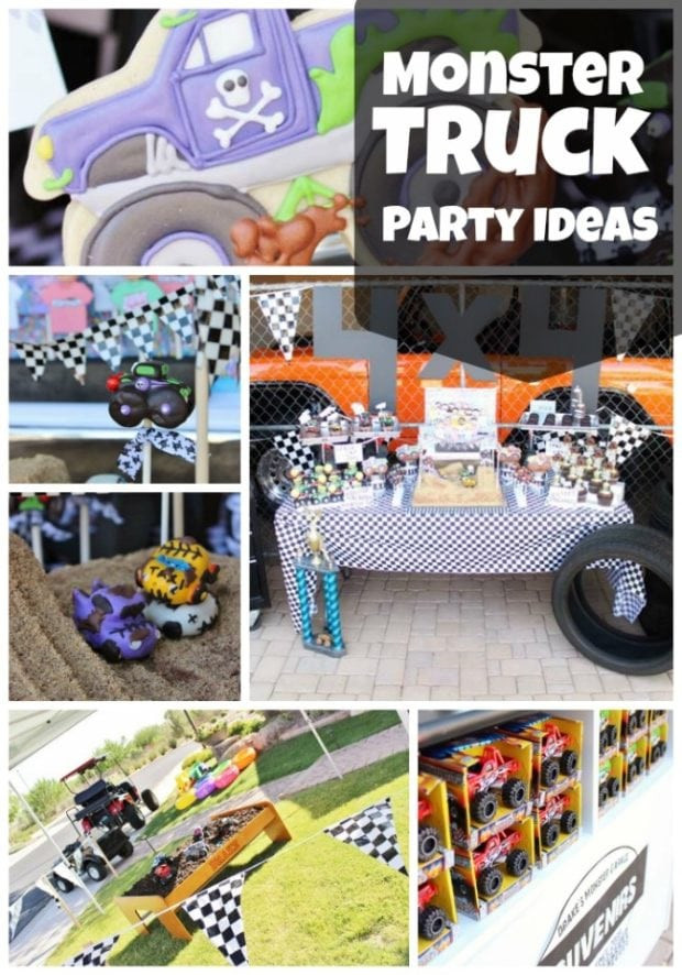 Best ideas about Monster Truck Birthday Party Supply . Save or Pin Monster Truck 4th Birthday Party Now.