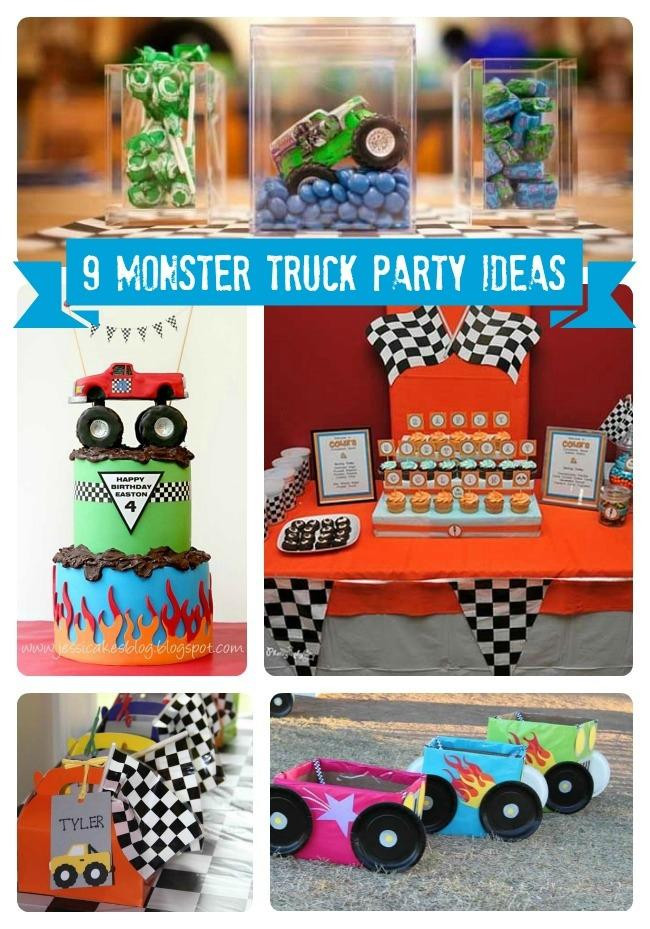 Best ideas about Monster Truck Birthday Party Supply . Save or Pin 9 Monster Truck Party Ideas Spaceships and Laser Beams Now.