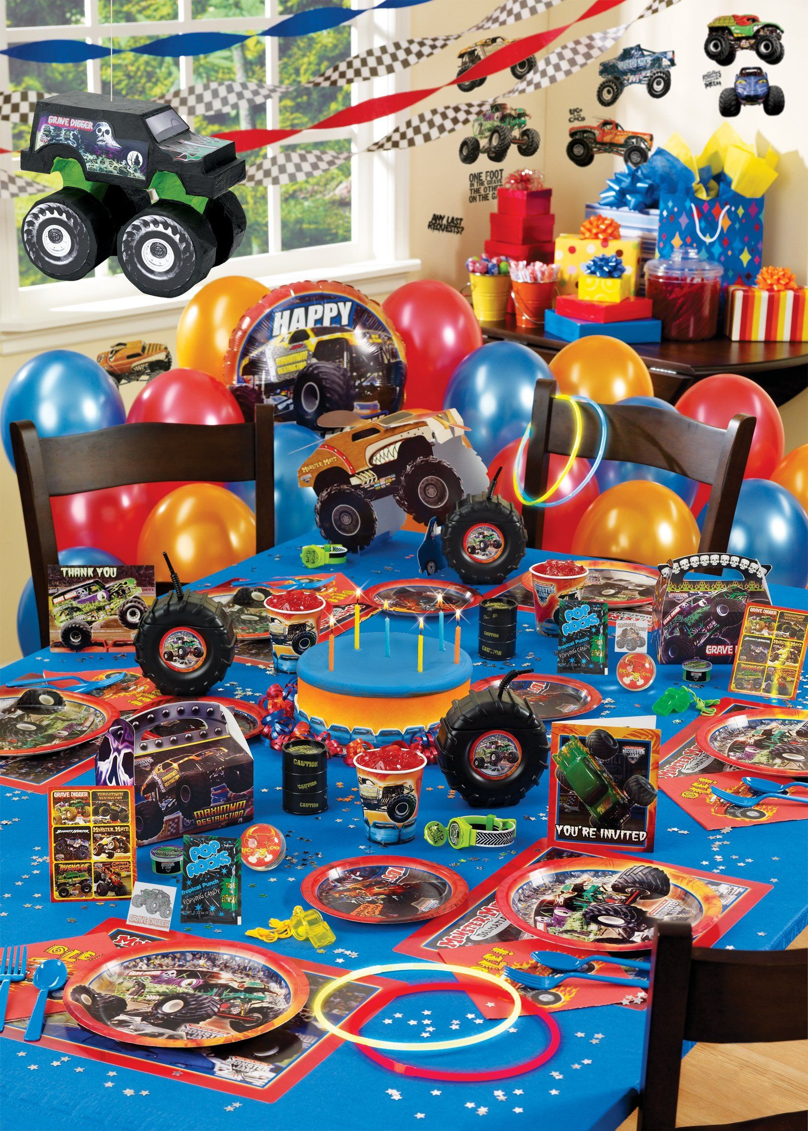 Best ideas about Monster Truck Birthday Party Supply . Save or Pin Monster Jam Ultimate Party Pack Birthday s Now.