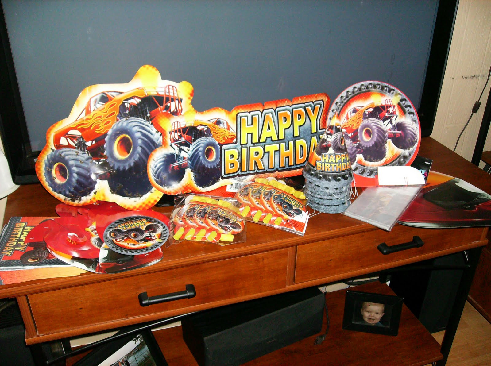 Best ideas about Monster Truck Birthday Party Supply . Save or Pin Support Blog for Moms of BOYS Jack s MONSTER JAM 4th Now.