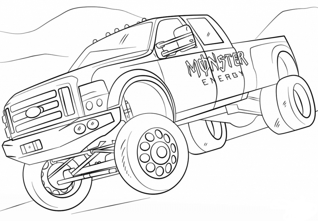 Best ideas about Monster Trucks Printable Coloring Pages . Save or Pin 10 Monster Jam Coloring Pages To Print Now.