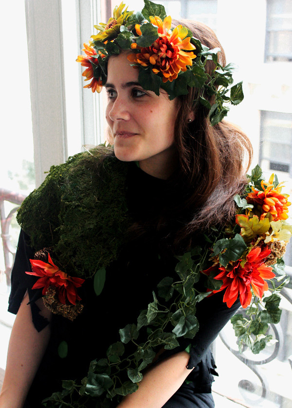 Best ideas about Mother Nature Costume DIY . Save or Pin DIY Trendy Mother Nature Costume Now.
