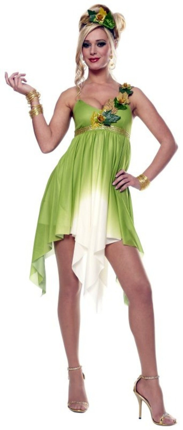 Best ideas about Mother Nature Costume DIY . Save or Pin Mother Nature Costume so easy to diy just wear a green or Now.