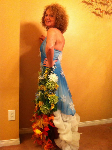 Best ideas about Mother Nature Costume DIY . Save or Pin Mother Nature Halloween Costume 13 Now.