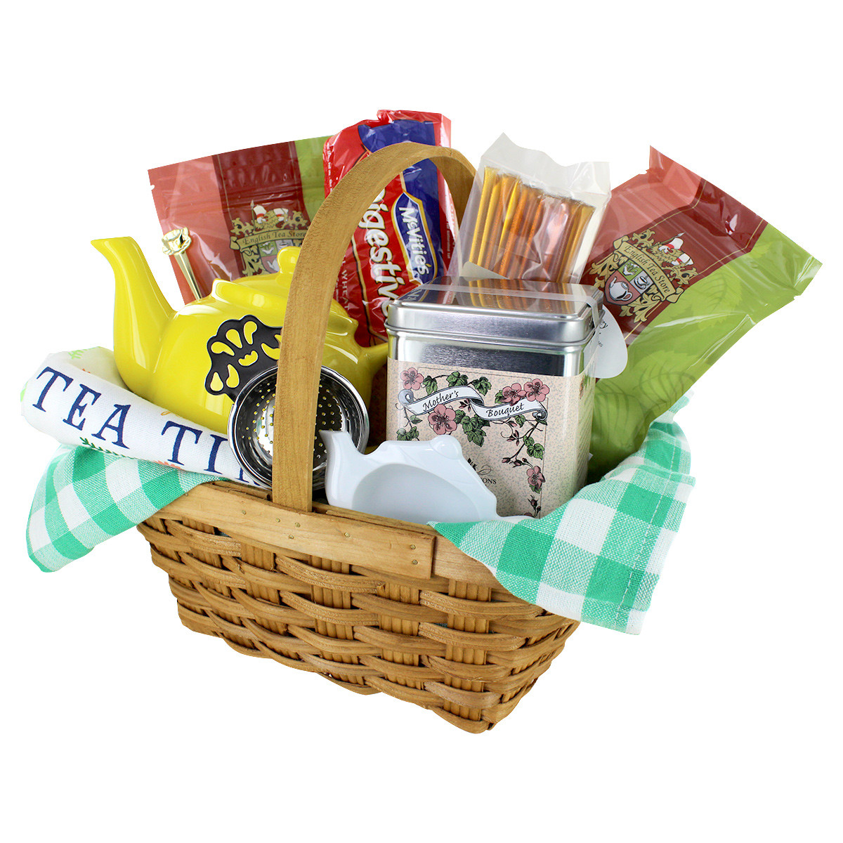 Best ideas about Mother'S Day Gift Basket Ideas . Save or Pin Tea Lovers Gift Basket Mothers Day Gift Basket Now.