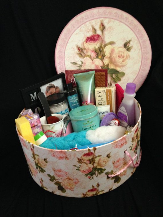 Best ideas about Mother'S Day Gift Basket Ideas . Save or Pin Mother s Day Gift Basket Pamper Mom on Etsy $100 00 Now.