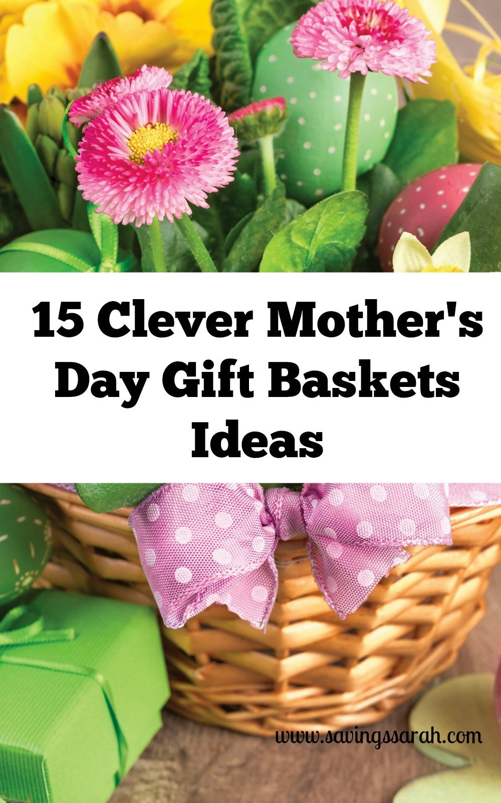 Best ideas about Mother'S Day Gift Basket Ideas . Save or Pin 15 Clever Mother s Day Gift Baskets Ideas Earning and Now.