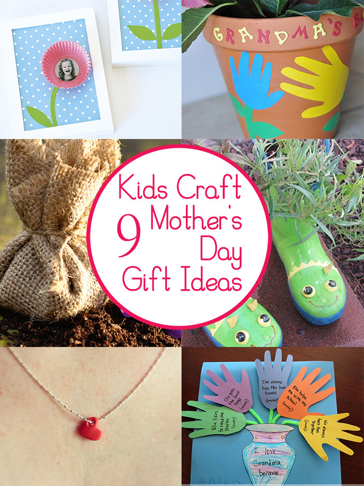 Best ideas about Mother'S Day Gift Ideas From Kids . Save or Pin 9 Mother s Day Crafts and Gifts Kids Can Make Tips from Now.