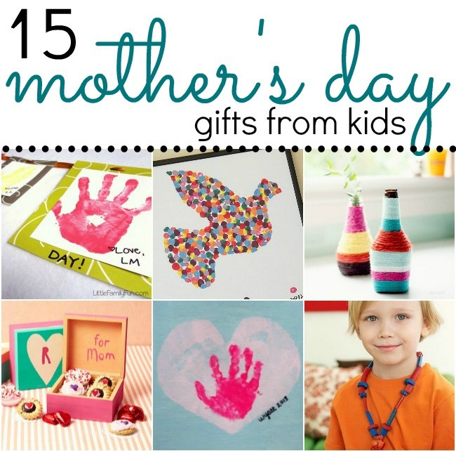 Best ideas about Mother'S Day Gift Ideas From Kids . Save or Pin 15 Adorable Mother's Day Gift Ideas from Kids Now.