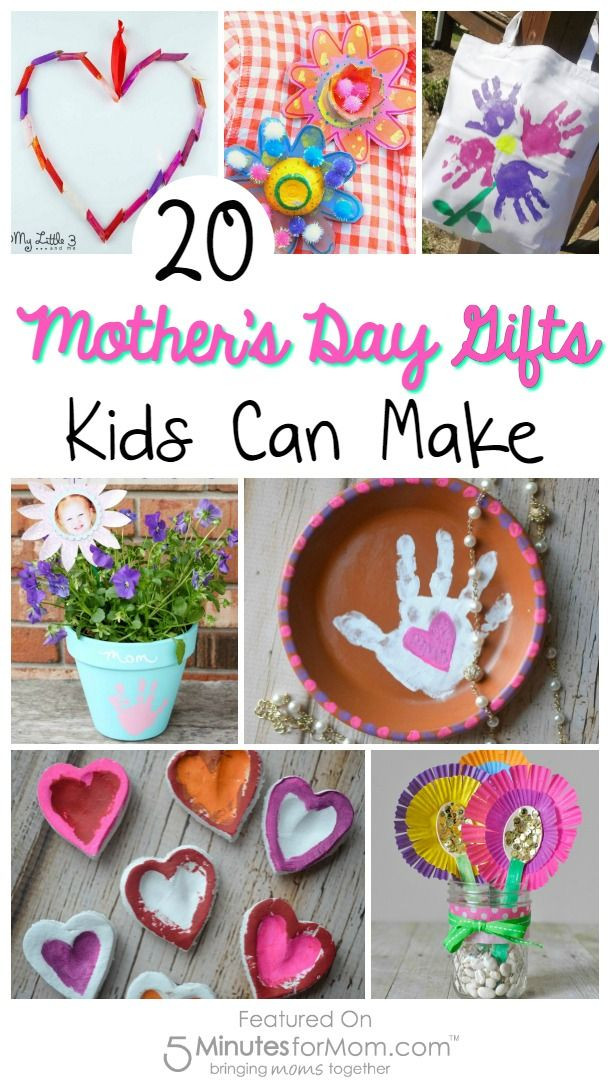Best ideas about Mother'S Day Gift Ideas From Kids . Save or Pin 20 Mother s Day Gifts Kids Can Make Now.