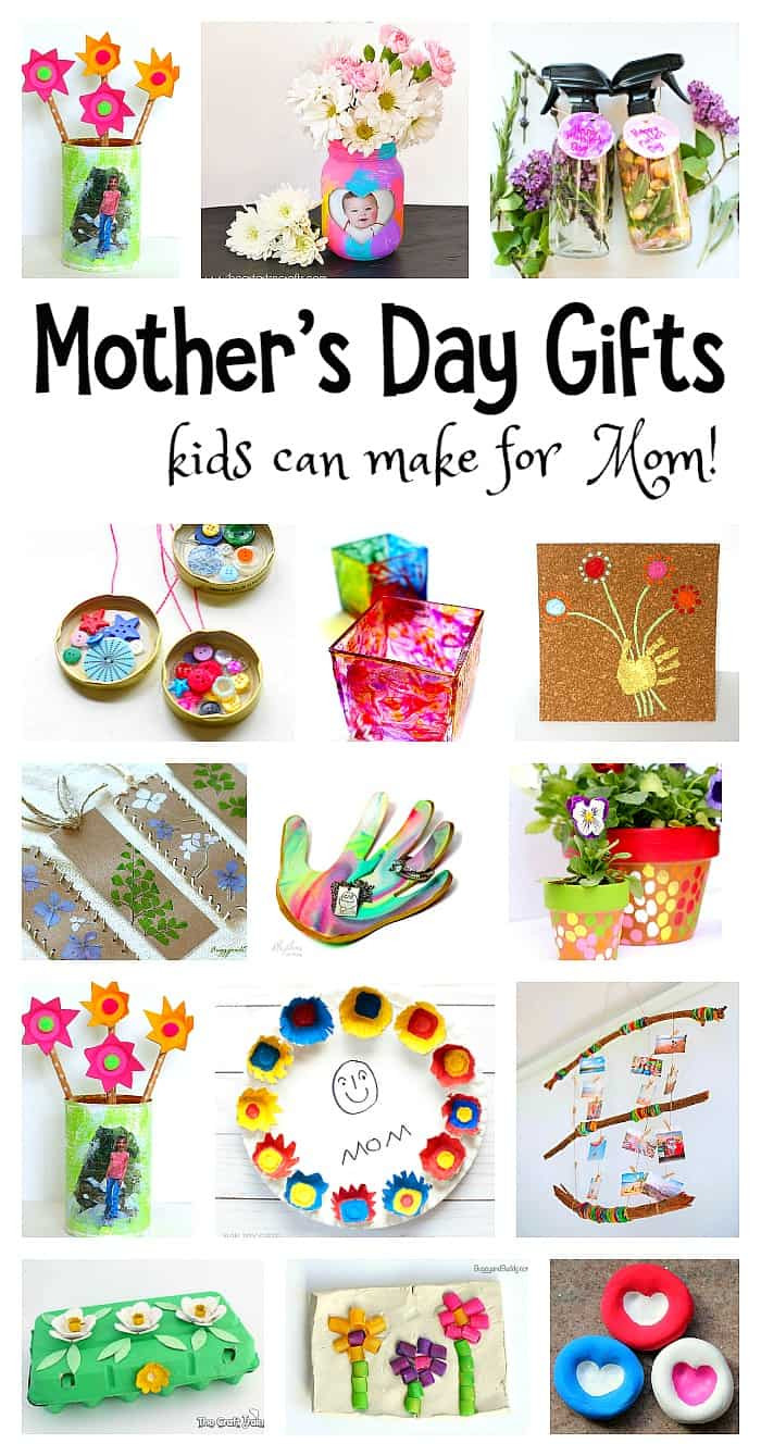 Best ideas about Mother'S Day Gift Ideas From Kids . Save or Pin Mother s Day Homemade Gifts for Kids to Make Buggy and Buddy Now.
