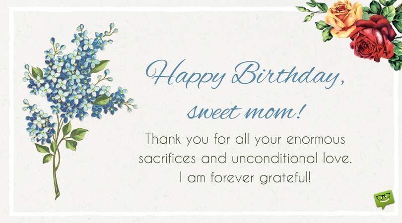 Best ideas about Mothers Birthday Wish . Save or Pin Happy Birthday Mom Now.