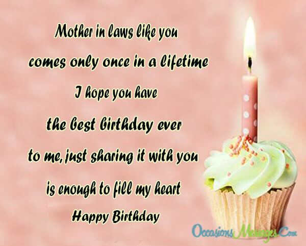 Best ideas about Mothers Birthday Wish . Save or Pin Birthday Wishes for Mother in Law Occasions Messages Now.