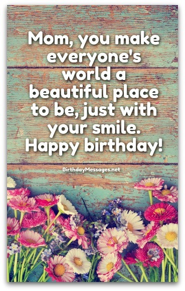 Best ideas about Mothers Birthday Wish . Save or Pin Mom Birthday Wishes Special Birthday Messages for Mothers Now.