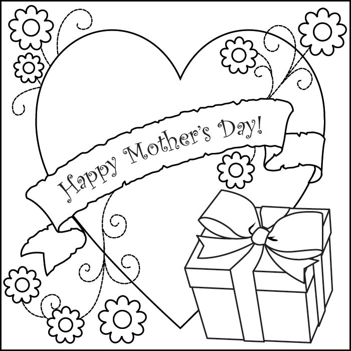 Best ideas about Mothers Day Coloring Sheets For Kids . Save or Pin Free Coloring Pages Now.