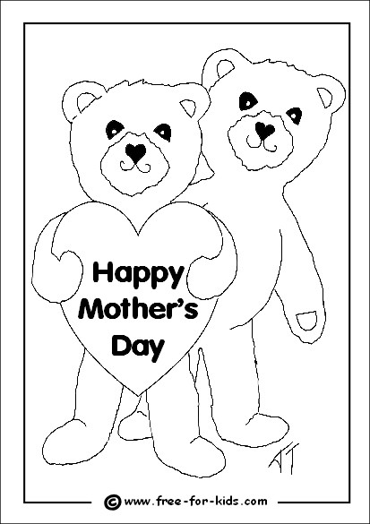 Best ideas about Mothers Day Coloring Sheets For Kids . Save or Pin Mothers Day Colouring Sheets Now.