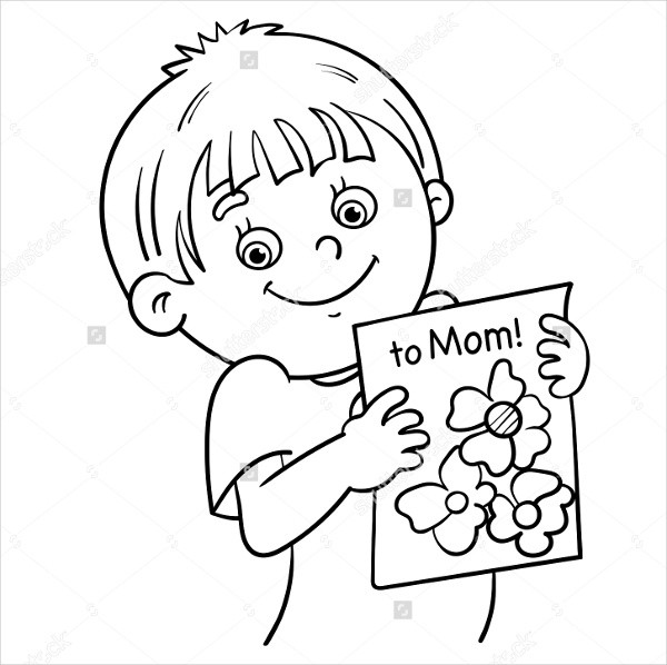Best ideas about Mothers Day Coloring Sheets For Kids . Save or Pin 9 Mothers Day Coloring Pages Free Sample Example Now.