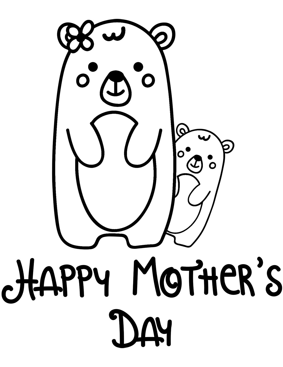 Best ideas about Mothers Day Coloring Sheets For Kids . Save or Pin 30 Free Printable Mother's Day Coloring Pages Now.