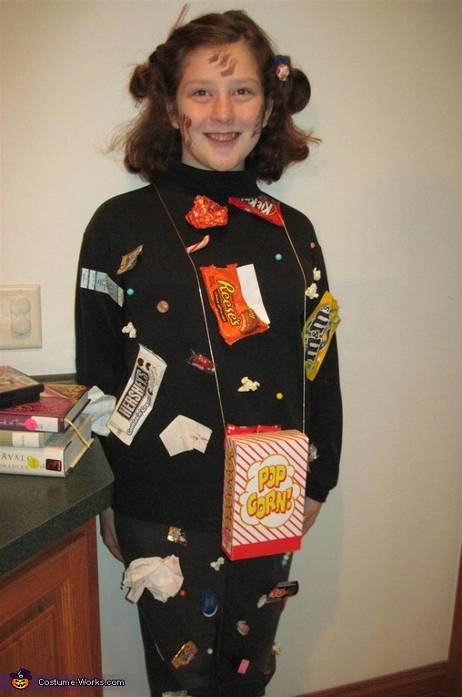 Best ideas about Movie Costumes DIY . Save or Pin Movie Theatre Floor Creative DIY Halloween Costume Now.