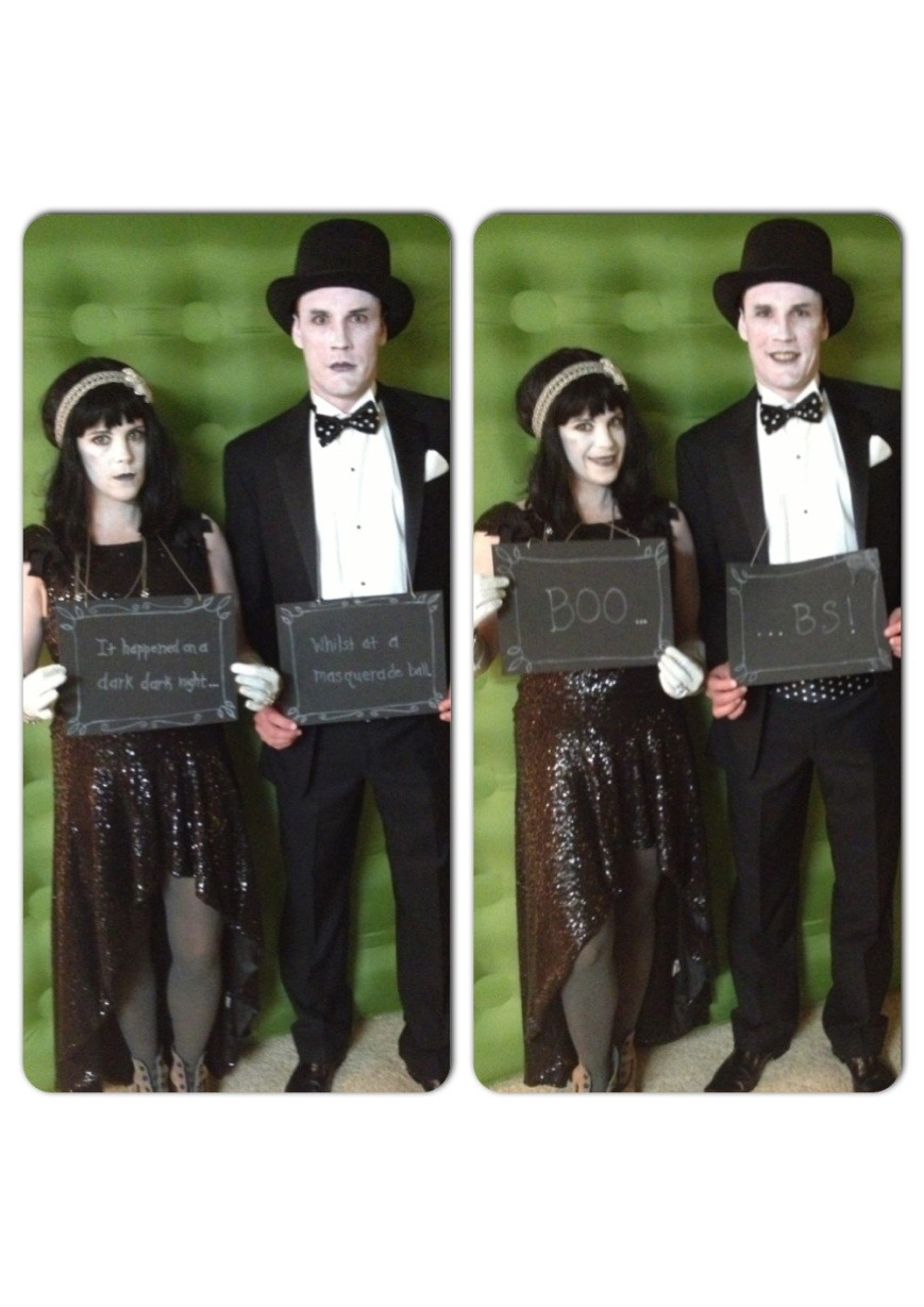 Best ideas about Movie Costumes DIY . Save or Pin DIY Halloween Costume Silent Stars Now.
