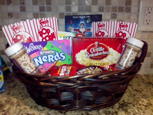 Best ideas about Movie Night Gift Basket Ideas . Save or Pin Homemade Gift Baskets on A Bud FTM Now.