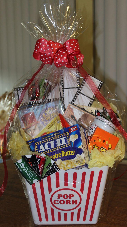 Best ideas about Movie Night Gift Basket Ideas . Save or Pin 25 best ideas about Movie basket t on Pinterest Now.