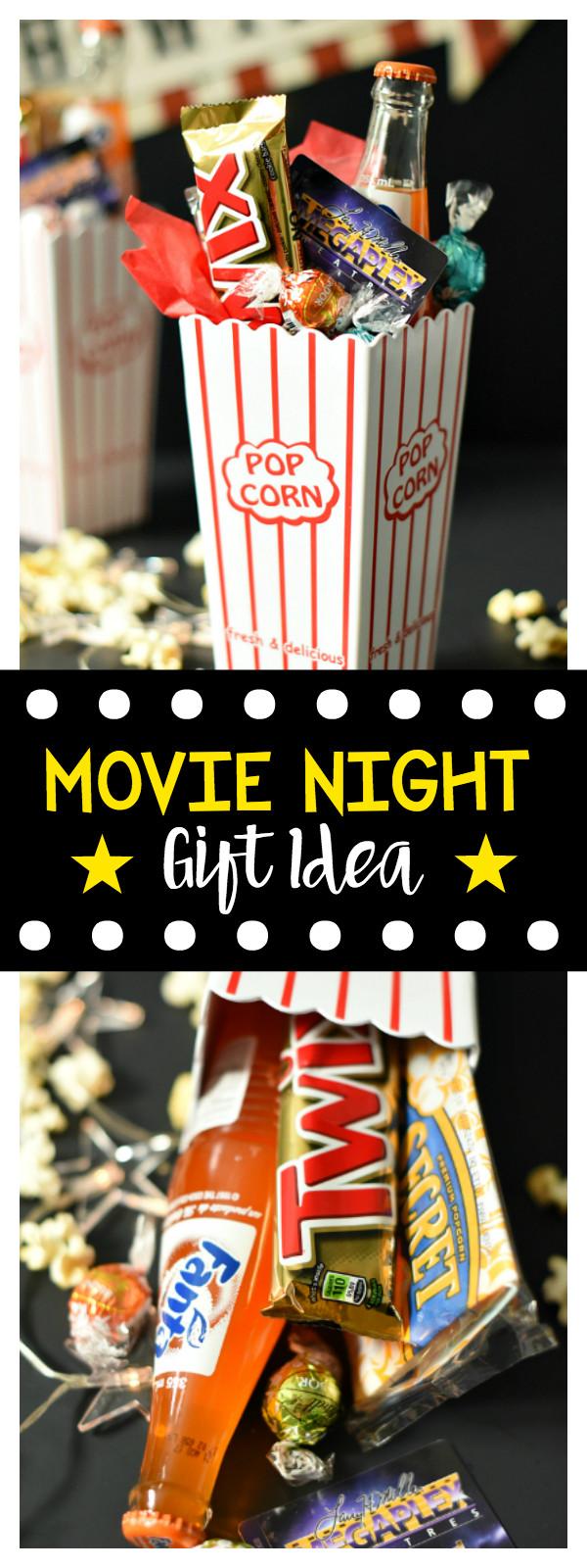 Best ideas about Movie Night Gift Basket Ideas . Save or Pin Movie Night Gift Basket – Fun Squared Now.